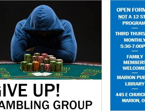 Gambling Support Group Meets Monthly in Marion